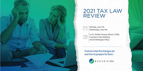 2021 Tax Plan Review tickets