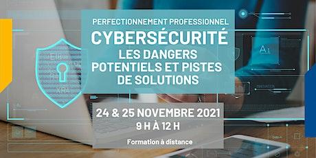 Cybersécurité : dangers potentiels et pistes de solutions billets