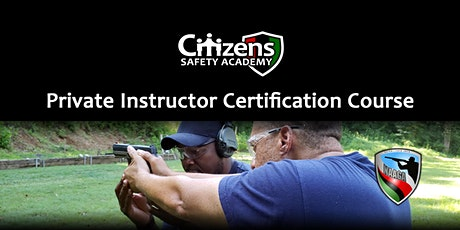 Private Instructor Certification Course tickets