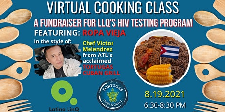 Latino LinQ Virtual Cooking Class tickets