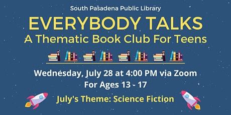 Everybody Talks: A Thematic Book Club for Teens tickets