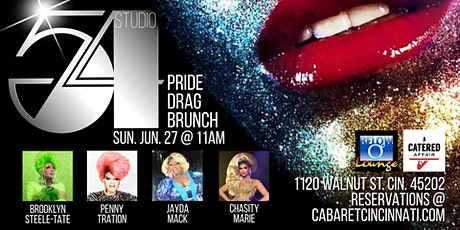 Studio 54 Pride Drag Brunch tickets