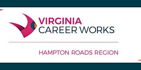 Virginia Career Works- Job Search Strategies biglietti
