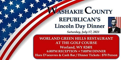 Washakie County GOP Annual Lincoln Day Dinner Fundraiser 2021 tickets