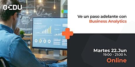 Ve un paso adelante con Business Analytics/Sesiones en vivo boletos