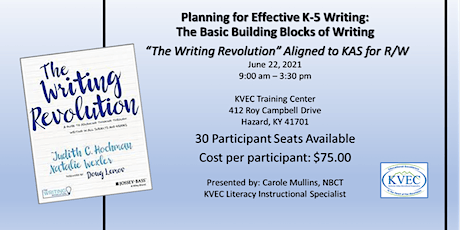 Planning for Effective K-5 Writing: The Basic Building Blocks of Writing tickets