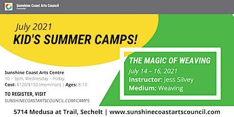 Summer Kid's Art Camp: The Magic of Weaving tickets