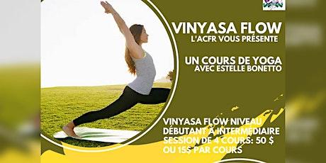 Les cours de Yoga billets