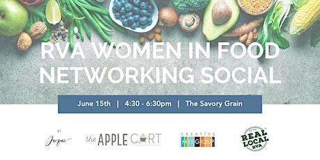 RVA Women in Food Networking Social tickets