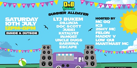DnB Brunch - Birmingham - Summer Alldayer tickets