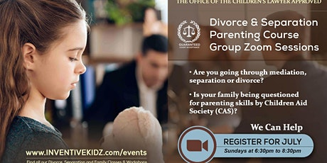 The Office Children's Lawyer- Divorce & Separation Parenting Course(Sunday) tickets