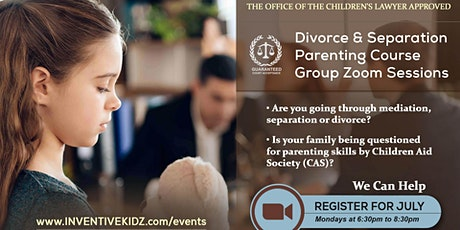 The Office Children's Lawyer- Divorce & Separation Parenting Course(Monday) tickets