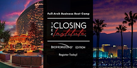 The Closing Institute Boot Camp July 2021 tickets