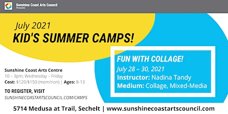 Summer Kid's Art Camp: Fun with Collage! tickets