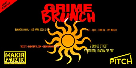 Grime Brunch - Summer Day Party tickets