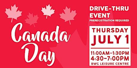 Drive-Thru Event - BWG Celebrates Canada Day tickets