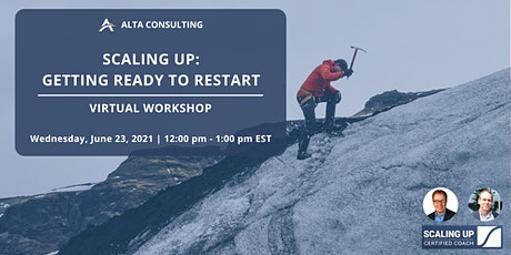 Scaling Up: Getting Ready to Restart tickets