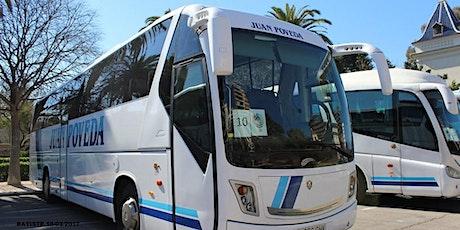 Buses de vuelta: Boda Jorge y Amparo entradas