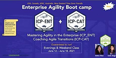 Enterprise Agile Coach - Bootcamp tickets