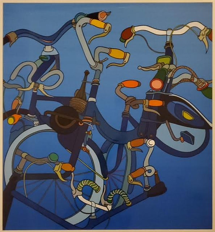 """""""The Cycle of the Bicycle"""", GRAND OPENING EVENT: First Friday, June 4th image"""
