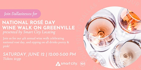 National Rosé Day Wine Walk on Greenville tickets