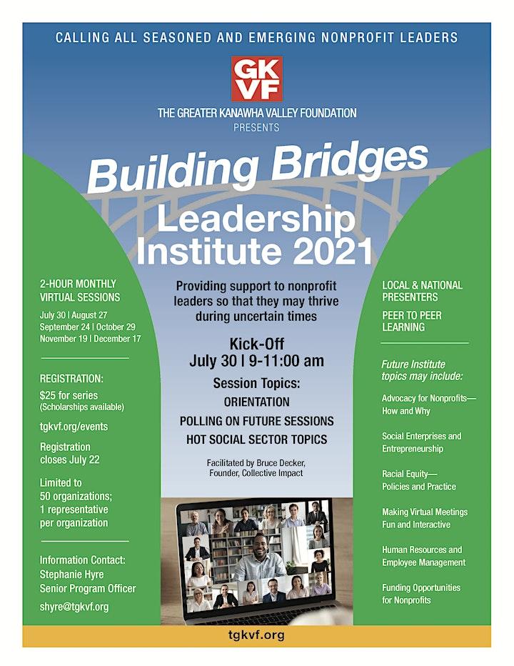 TGKVF Building Bridges Leadership Institute 2021 image