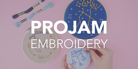 ProJam: Embroidery tickets
