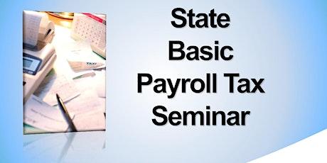 State Payroll Tax Webinar by EDD Tax Branch tickets