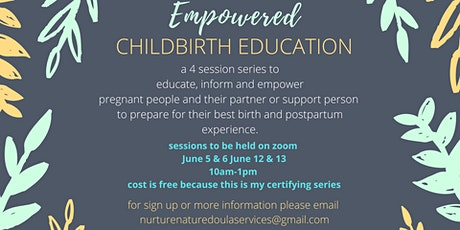 Empowered Childbirth Education tickets