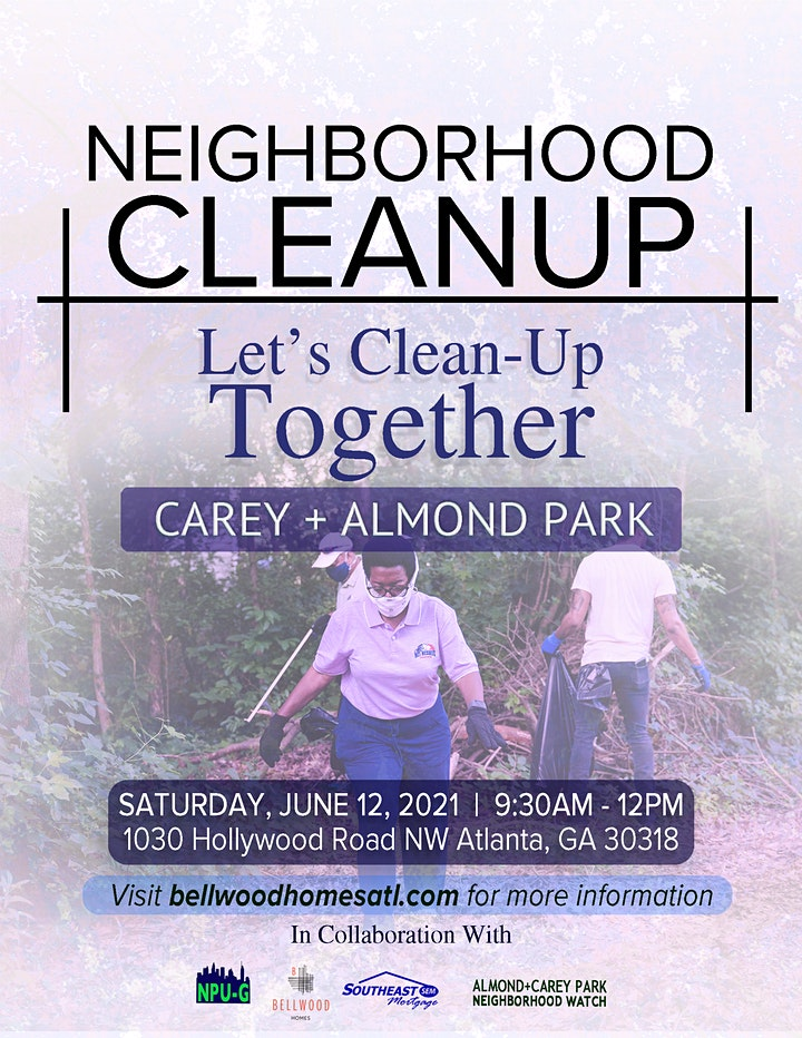 Neighborhood Cleanup— Carey + Almond Park NW Atlanta image