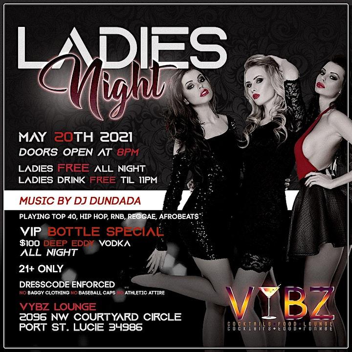 Ladies Night at Vybz image