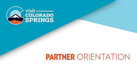 Partnership Orientation tickets