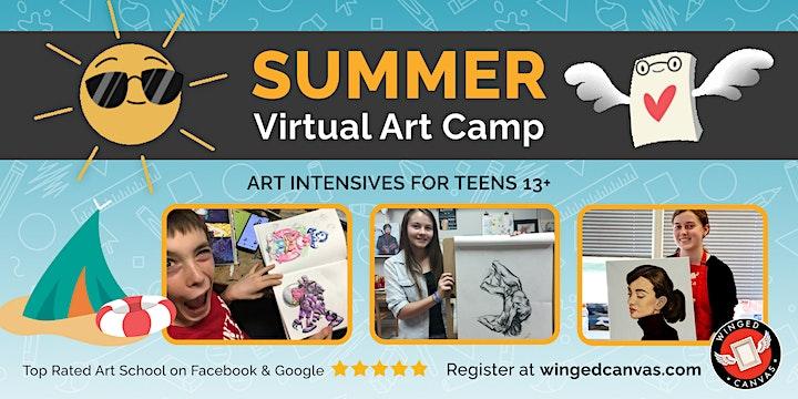 Character Design 1 (13+) Art Intensives for Teens image
