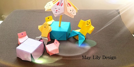 Origami Patio Furniture and Person Children Workshop ( Paper Craft ) tickets