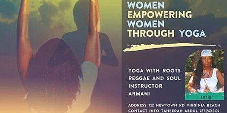W.E.W. Yoga with Roots, Reggae, and Soul tickets