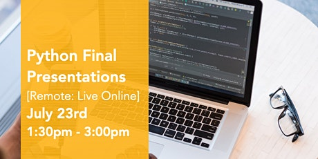 Python Virtual Final Presentations tickets