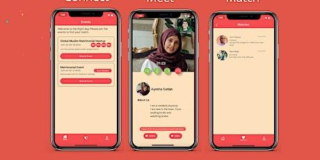 Online Muslim Singles Event 21 -40 Sydney tickets