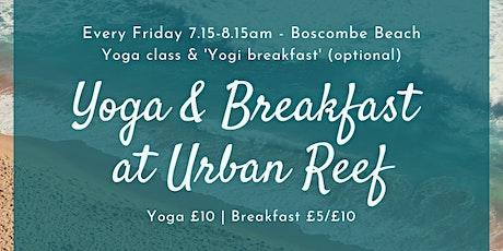 Yoga  &  Breakfast (optional) at Urban Reef tickets