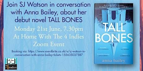 SJ Watson in conversation with Anna Bailey tickets