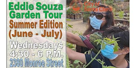 Garden Tours at Eddie Souza Park (Summer Edition) tickets