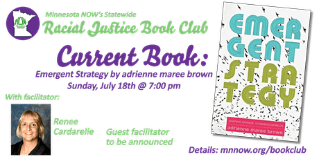 MN NOW Racial Justice Book Club: Emergent Strategies tickets