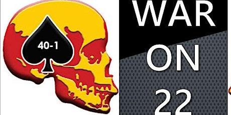 CVMA 40-1  3rd Annual War On 22 Charity Poker Run tickets