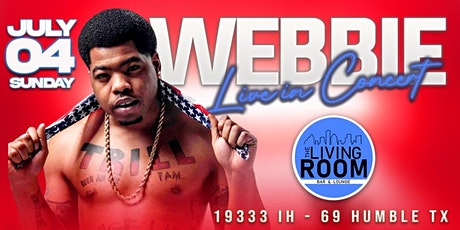 4TH OF JULY ALL WHITE PARTY STARRING WEBBIE LIVE IN CONCERT! tickets