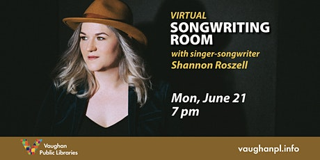 Virtual Songwriter's Room tickets