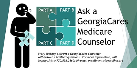 Ask A Medicare Counselor tickets