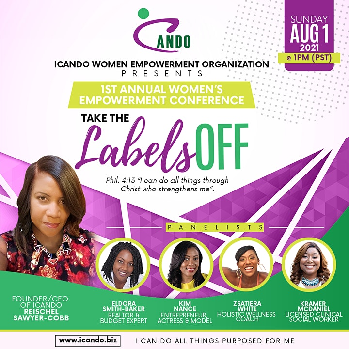 ICANDO 1ST ANNUAL WOMEN EMPOWERMENT CONFERENCE image
