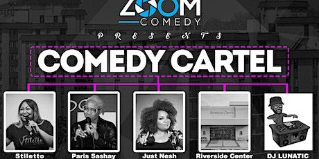 Zoom Comedy Presents Comedy Cartel tickets