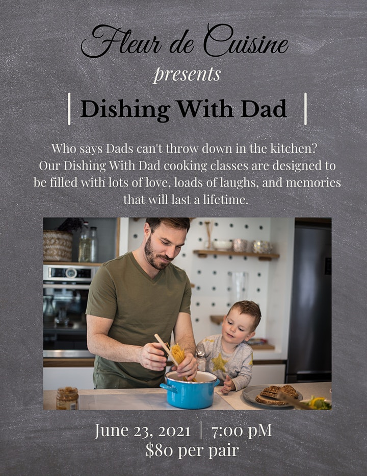 Dishing With Dad image