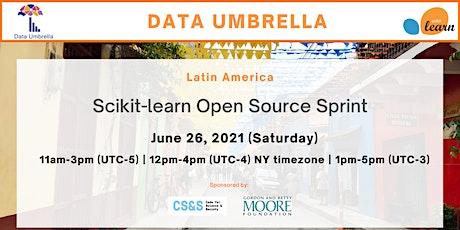 LATIN AMERICA Scikit-learn Open Source Sprint biglietti