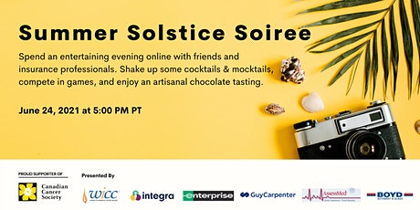 WICC BC Summer Solstice Soiree tickets